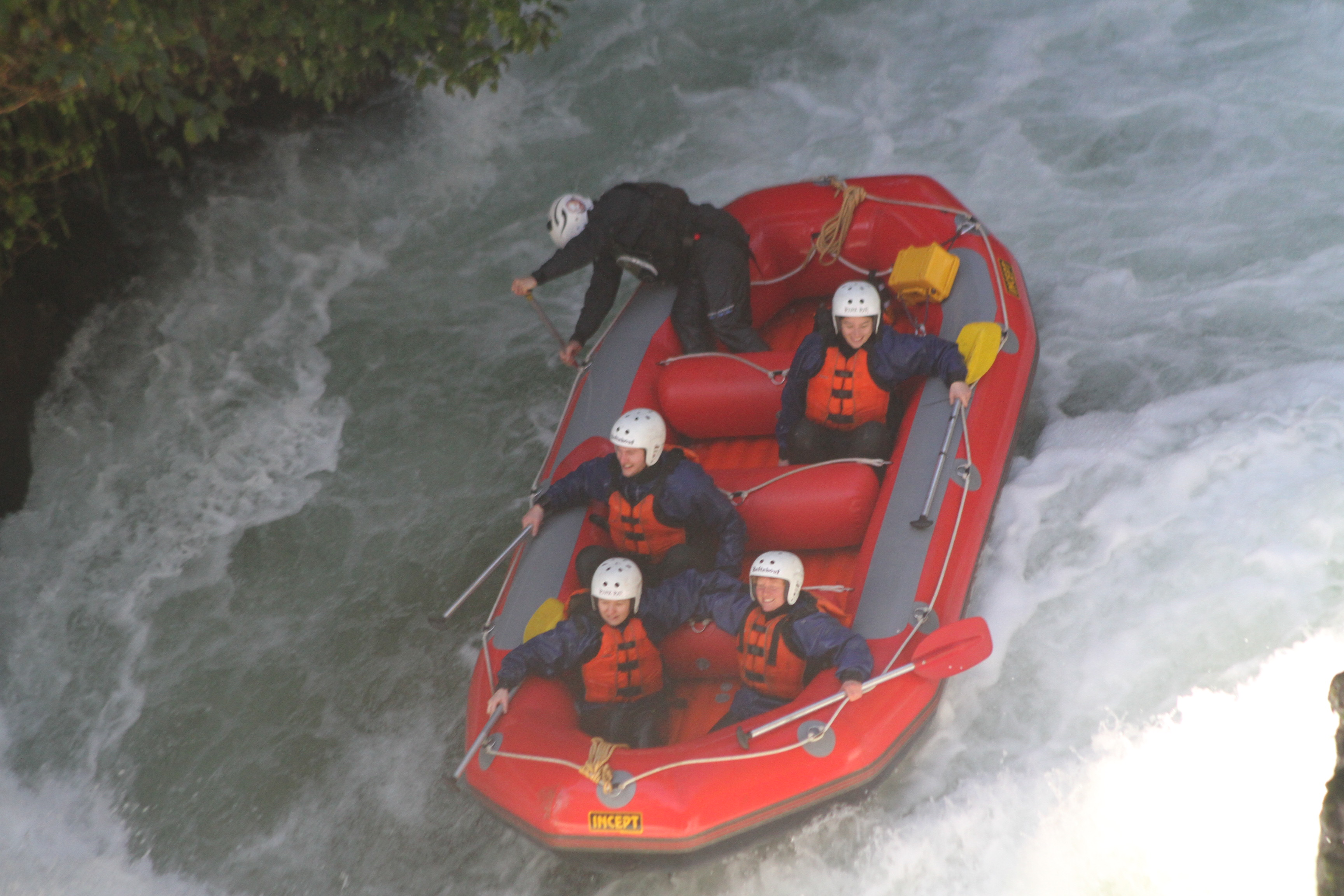 White-water-rafting-activity-in-Rotorua