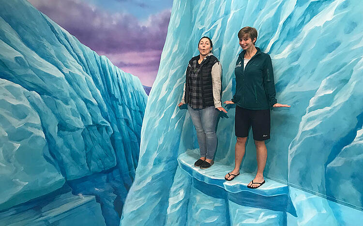 Things to do on a rainy day in Rotorua - 3D trick art gallery