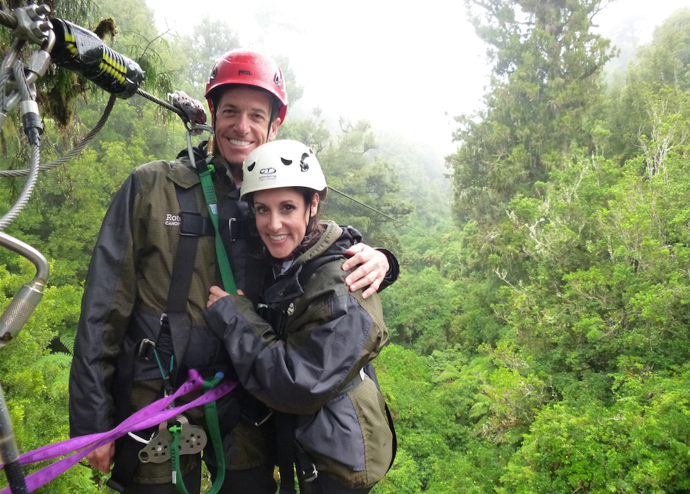 Canopy Tours Fun in the Rain
