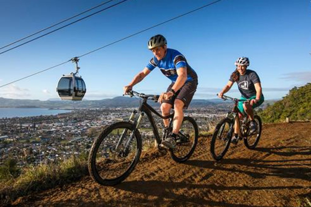 Mountain Biking in Rotorua skyline gravity park ride