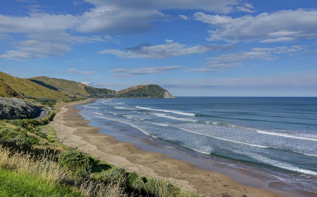 Places to visit in New Zealand -Makarori-beach-Gisborne