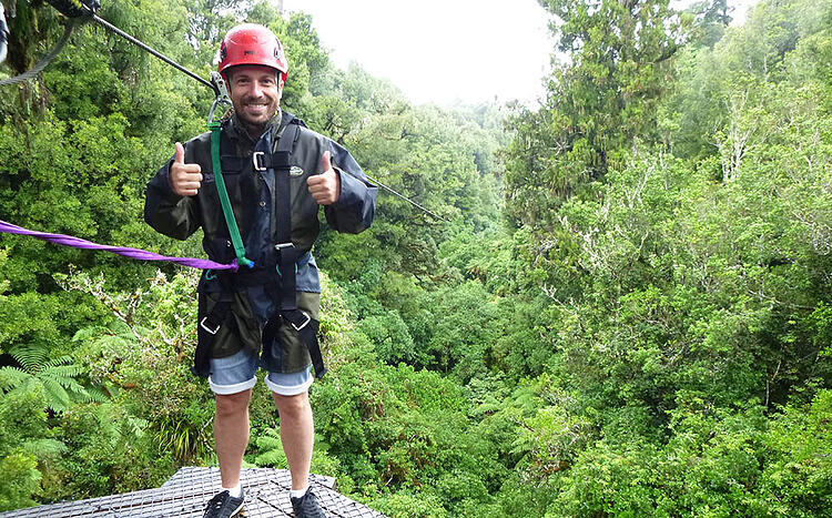 things to do on a rainy day in Rotorua Rotorua-Canopy-Tours