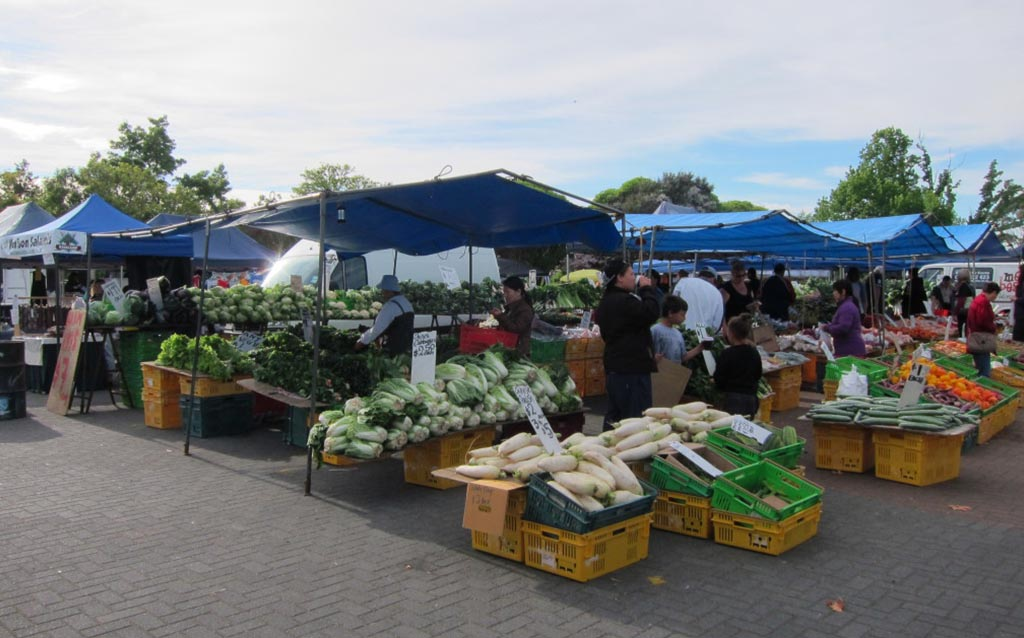 Places to eat in Rotorua - Saturday Morning Market
