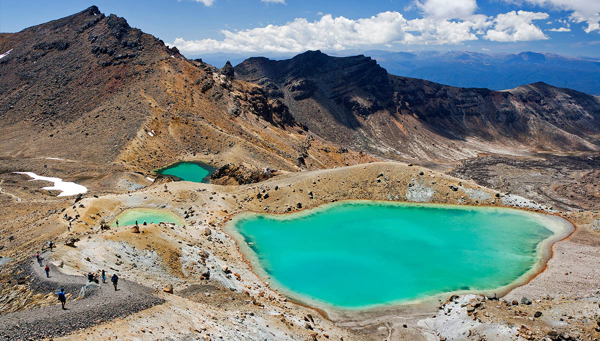 Rotorua walks and Attractions -Tongariro-Alpine-Crossing