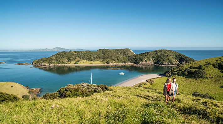 North Island family activities sailing in Paihia