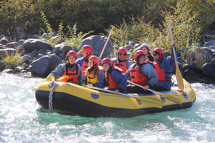 North Island family activities tongariro-river-rafting